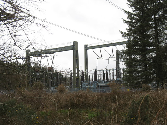 NE corner of the Pentir Electricity Sub-Station
