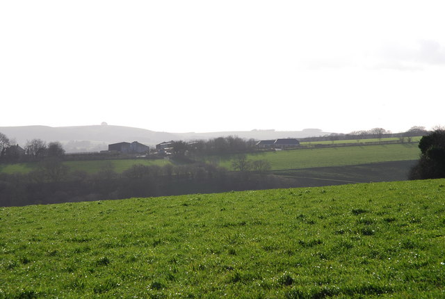 Church Farm from North Hill Farm