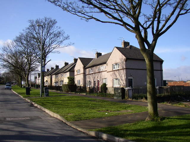 Council houses, Bradley Boulevard, Sheepridge, Fartown, Huddersfield