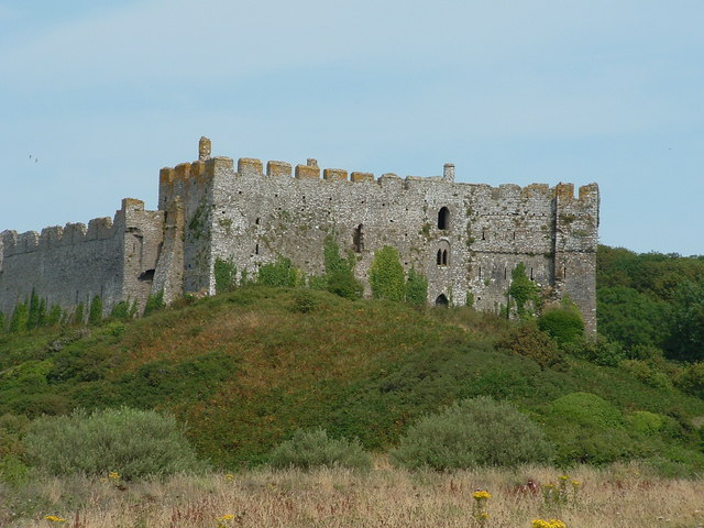 Castle at Manorbier