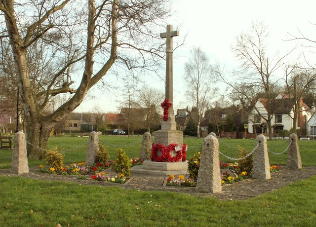 War Memorial on Blackmore's village green
