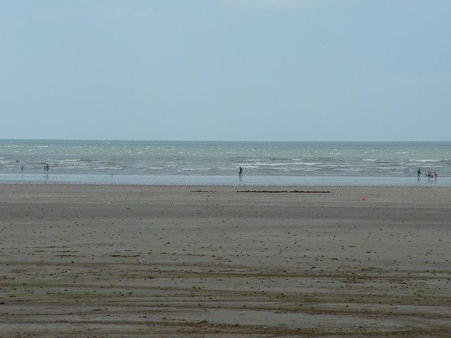 Beach at  Pendine