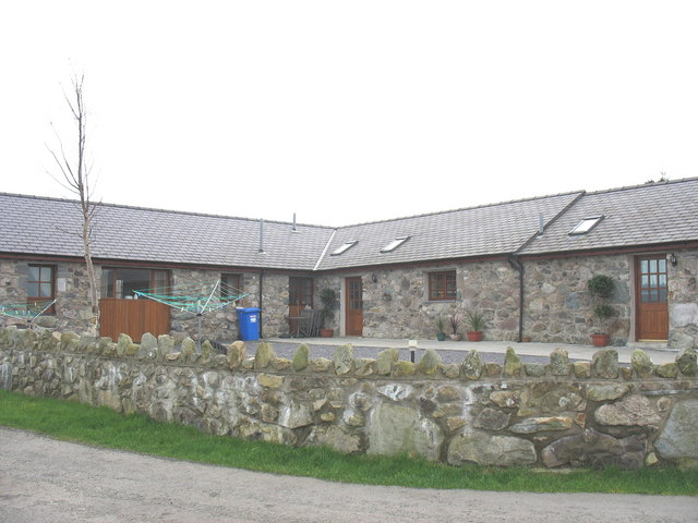 Farm buildings at Vodol Ucha' tastefully converted into holiday units