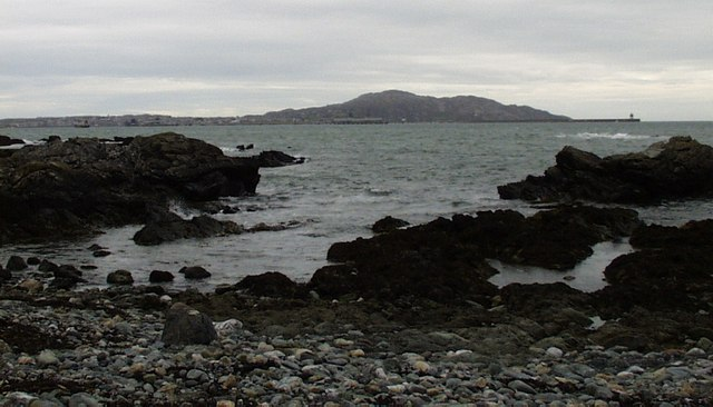 Holyhead, the Mountain and the Breakwater.