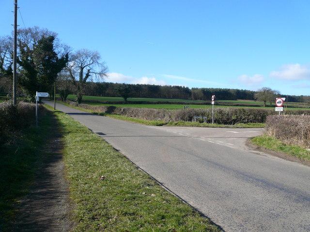 Birkin Lane - Junction with Malthouse Lane
