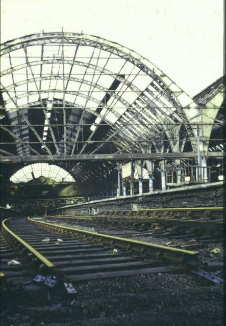Bradford Exchange Station 1973 (demolition)