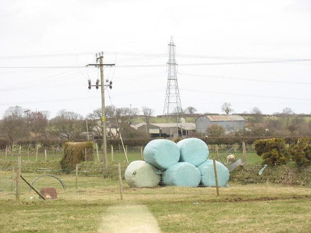 Hafodol Newydd from near Fferm Fodol