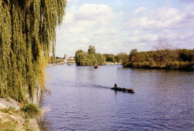River Thames at Twickenham