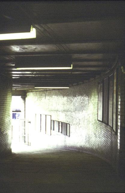 Bradford Exchange Station 1973  Subway to Leeds Road
