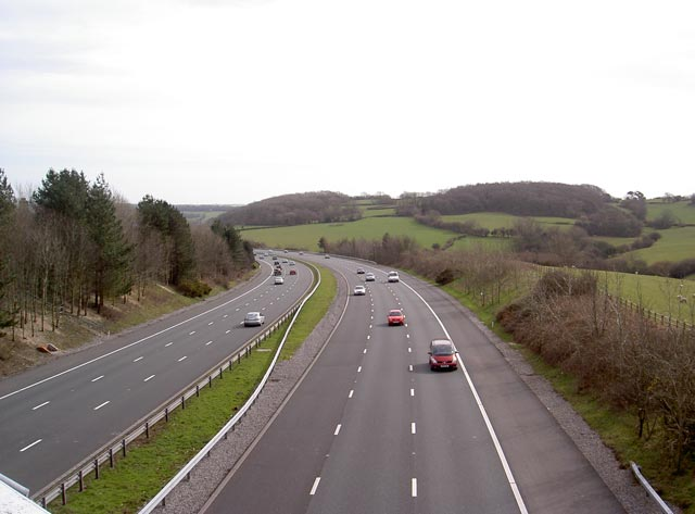 M4 east near J35