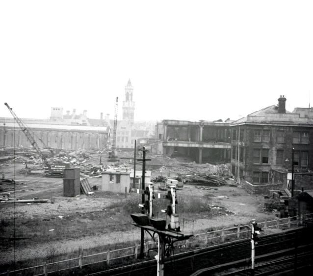Bradford Bridge Street Goods Yard 1972