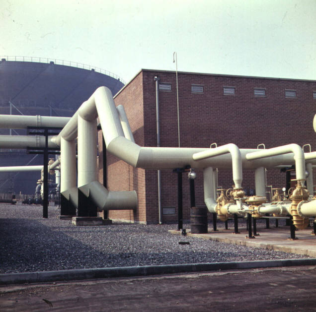 Bradford Birks Hall Gas Works