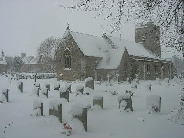 Holy Trinity Church, Ascott under Wychwood