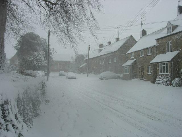 Church View, Ascott under Wychwood from Shipton Road