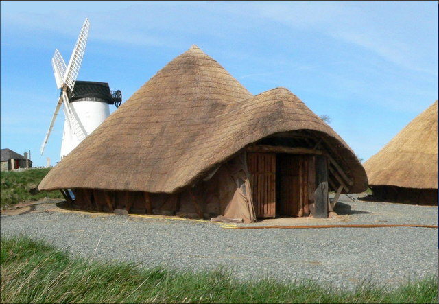 Iron Age Village, Llynnon Mill, Llanddeusant, Anglesey.