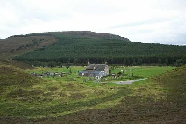 Achlean, Glen Feshie