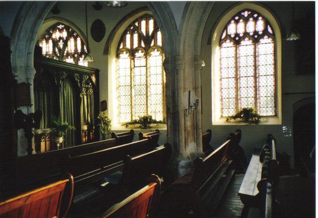 Inside Slapton Parish Church