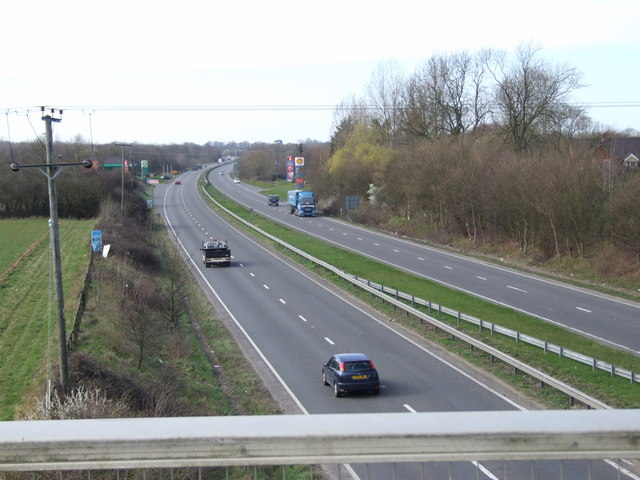 A11, towards services from Flyover