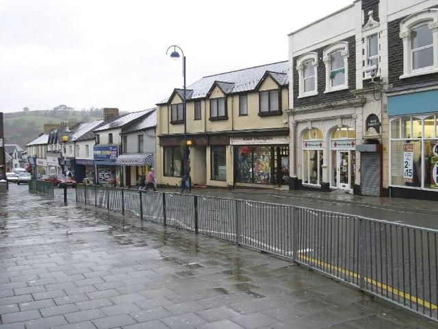 High Street, Bargoed (Facing North)