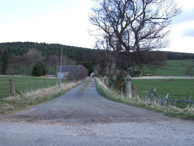 Entrance to Quittlehead Farm