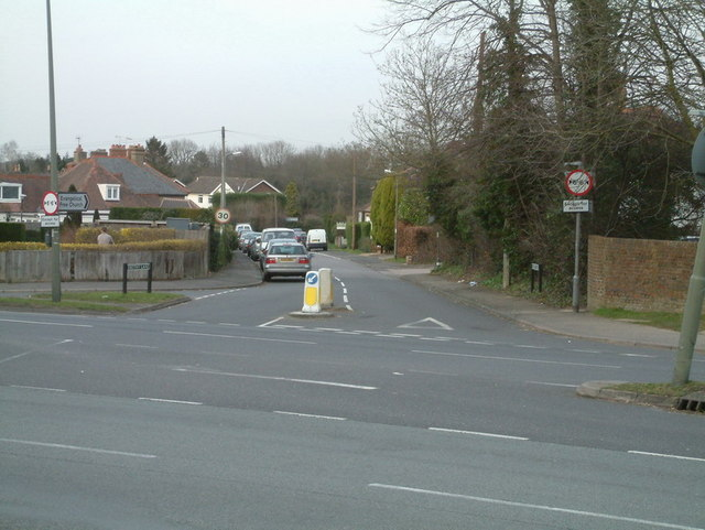 Smithy Lane junction with Brighton Road