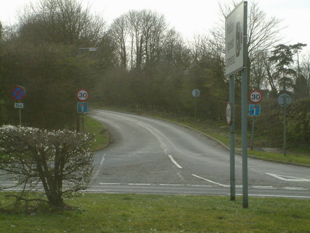 Margery Lane junction with A217