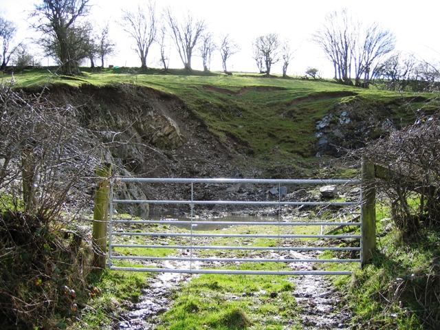 Small Quarry near Bryneglwys