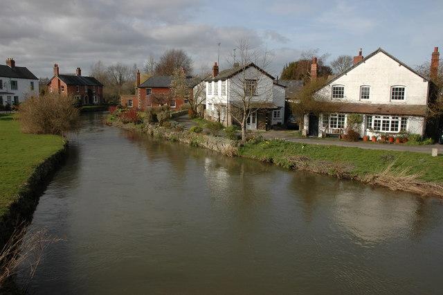The river Arrow, Eardisland