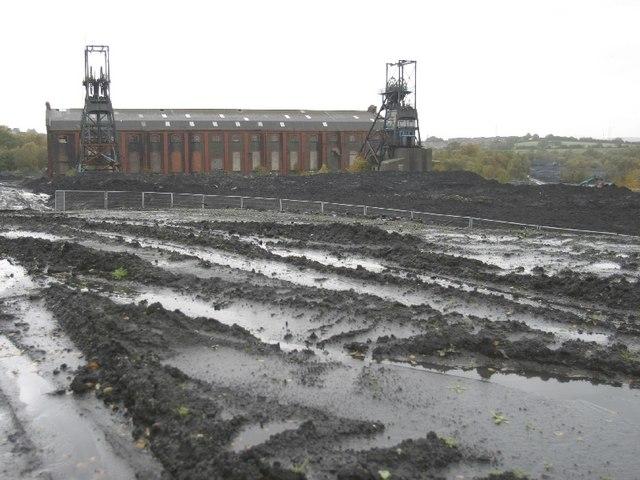 Penallta Colliery Building, Nr Ystrad Mynach