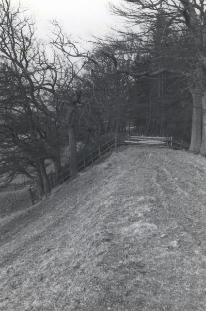Hatton Incline of the 19th century Dundee - Newtyle Railway
