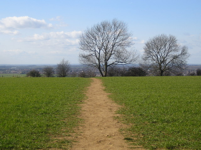 Footpath: Bracebridge Heath