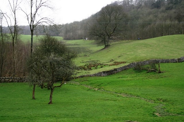 Looking Down the Dale from Witherslack