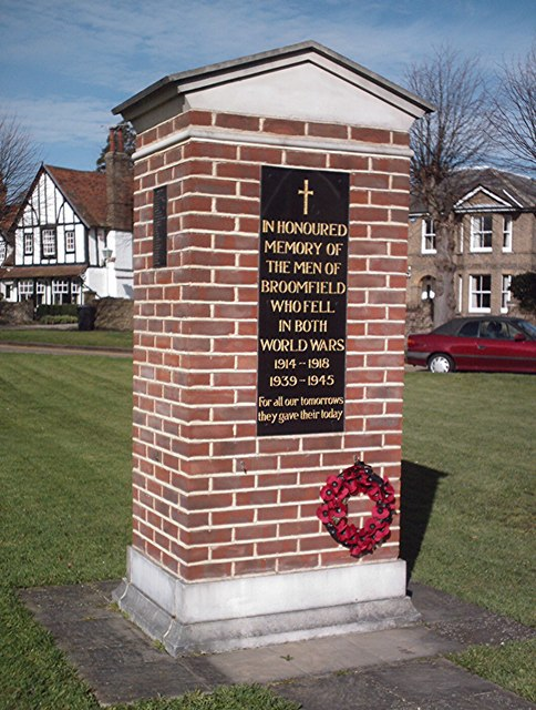 War Memorial, Broomfield