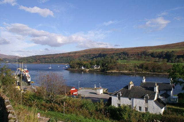 Loch Aline & the ferry