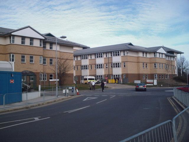 East Entrance, Broomfield Hospital