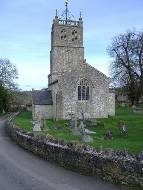 St Luke and St Andrew's church, Priston