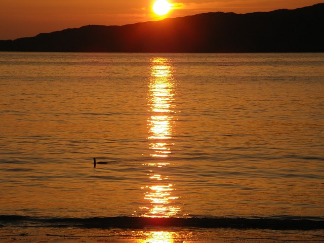Sunset, Achmelvich Beach