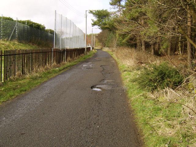 Beginnings of path to Greenside Reservoir