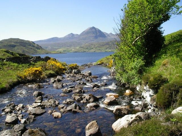 Maldie Burn, Loch Glendhu