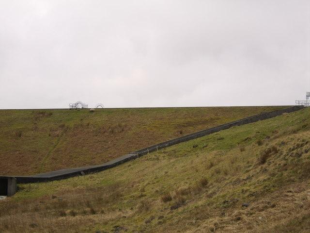 Overspill of Greenside Reservoir