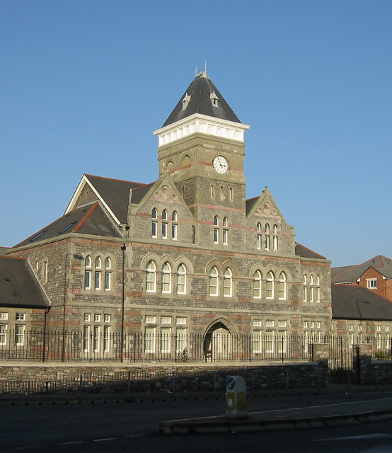 The old St.Davids Hospital, Cardiff.