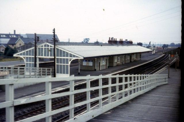 Church Fenton Railway Station 1970