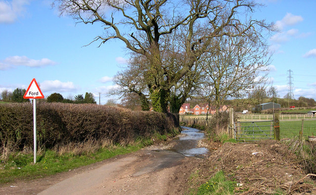 The Southern Ford in Bennett's Lane, near Pattingham