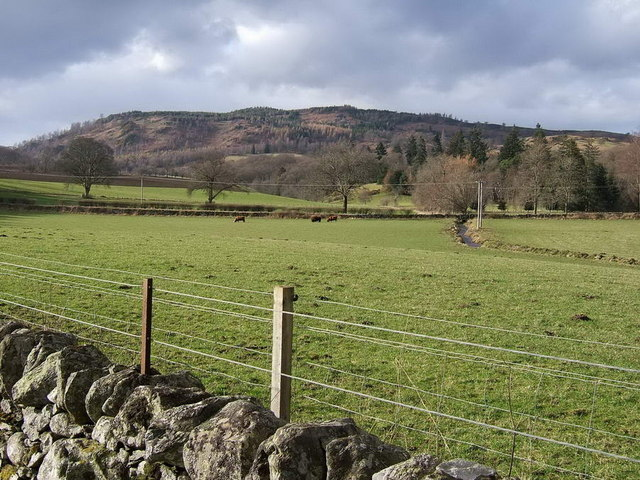 Looking NW to Drumcennant Hill