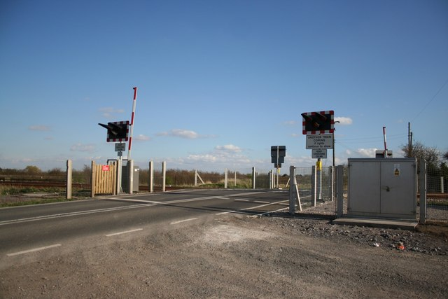 West Road level crossing
