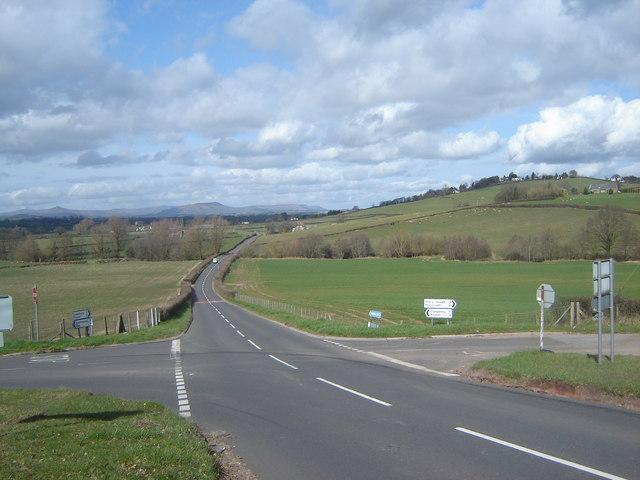 Crossroads - The Crosshands - near Llansoy