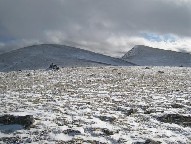 Summit Cairn .. Meall Nathrach Mor