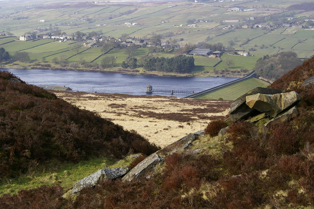 Penistone Hill Country Park and Lower Laithe Reservoir