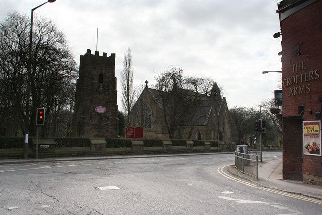 Saint Maxentius Tower at Bradshaw Chapel