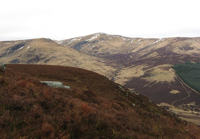 North ridge of Craigie Thieves